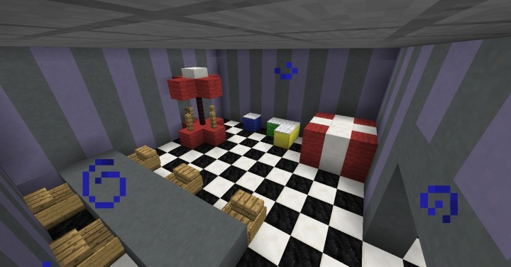 Five Nights At Freddy S 2 Map Fnaf2 Minecraft Project – Fondos de