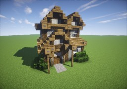 Small Medieval Home Minecraft Map & Project
