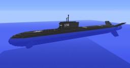 M.C.N. Galina SSN-150 Submarine (FTB Monster) Minecraft Map & Project