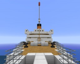 RMS Titanic 1.1 Minecraft Map & Project