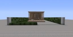 """Open Air"" Modern Home Minecraft Map & Project"