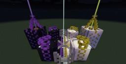 Prospit & Derse Battleground (Homestuck) Minecraft Map & Project