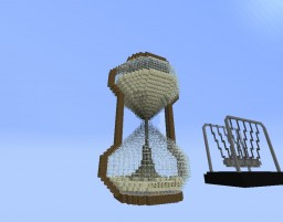 Hour Glass and Newton's Cradle all in One! Minecraft Project