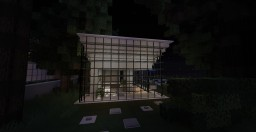 """Lightbox"" Modern Home Minecraft Map & Project"