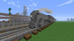New York Central Railroad Streamlined J3 Hudson Minecraft Project