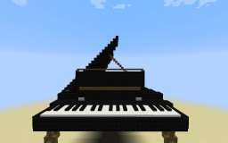 Grand piano by iCisco Minecraft