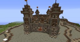 Medieval Keep Minecraft Map Project