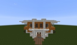 Modern House 3 ( No Decoration ) Minecraft Map & Project