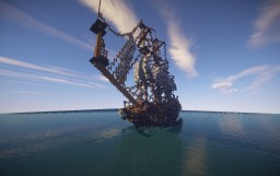 HMS prince I - 1:1 ShipSide - By Lucasdeluc Minecraft Project