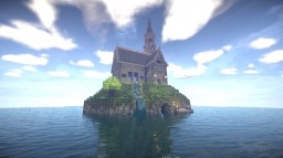 Private Island House Minecraft Map & Project