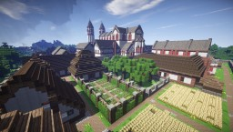 Download the historical reconstruction of the Saint Gall Monastery (Direct Link only for MC 1.12) Minecraft Map & Project