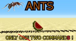 ANTS WITH 2 COMMANDS IN VANILLA ! Minecraft Map & Project