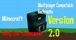 1.8-1.9 multiplayer backpacks Version 2 Minecraft