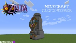 "Majoras Mask ""Clock Tower"" Minecraft Map & Project"