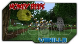 Honey Bees with only 1 command Minecraft Project