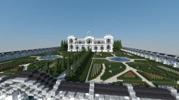 Baroque and Neoclassical Palace Minecraft