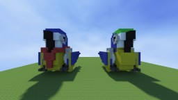 Two Parrots (Model No.40131) Minecraft Project