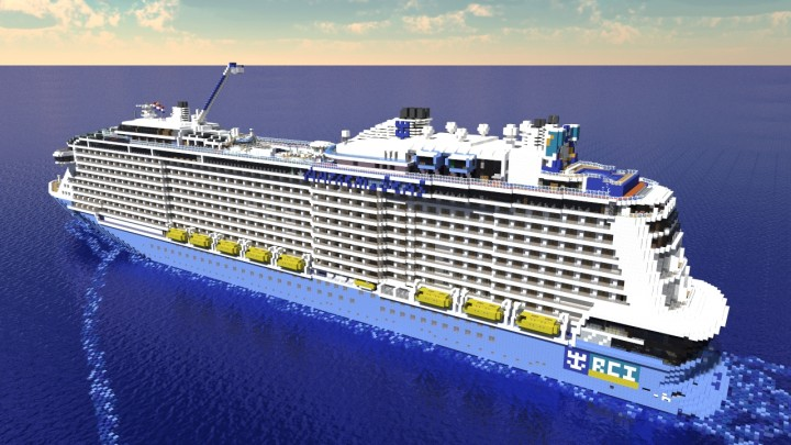 Anthem Of The Seas Scale Cruise Ship Minecraft Project - Anthem of the seas cruises