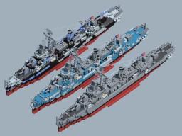 USS DD Gleaves Class Minecraft Project