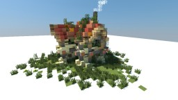 ~ Fantasy Medieval Midget House ~ Minecraft Map & Project