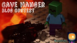 LEGO Minecraft Cave Hanger - Contest Minecraft Blog Post