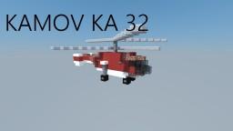 Kamov KA-32 Helicopter [Heliswiss Livery] Minecraft