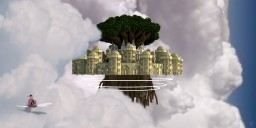 Laputa - Castle in the sky - Studio Ghibli movie Minecraft Map & Project