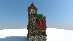 Chax ~ Medieval Fantasy Townhall with small Blacksmith ~ Minecraft Project
