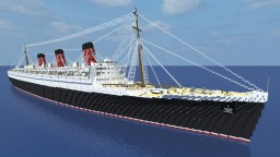 RMS Queen Mary 2:1 Minecraft Map & Project