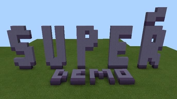 Supeŕ Demo Mcpe Adventure Map Minecraft Project