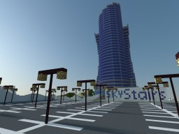 Sky Stairs Hotel Minecraft Project