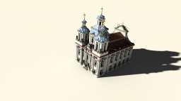 St. Mikulas church Minecraft Project