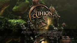 Athion Training Grounds Minecraft Project