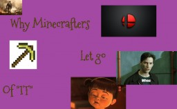 "Why Minecrafters Leave ""Minecraft"" Minecraft Blog Post"