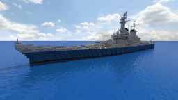 USS Montana BB67 [1:1] Minecraft Map & Project