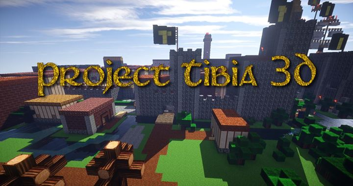 Tibia World Map.Tibia 3d Map Server Minecraft Project
