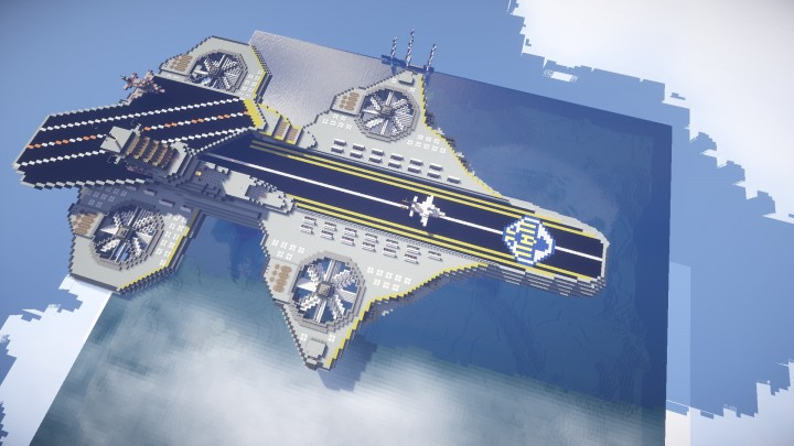 S.H.I.E.L.D. Helicarrier by PilchPlays and PirateySquirrel on Brunos Realm play.brunosrealm.com
