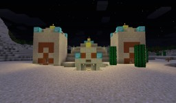 1.9 Arizonan Desert Temple (Gonna Start Over On New Map) Minecraft Map & Project