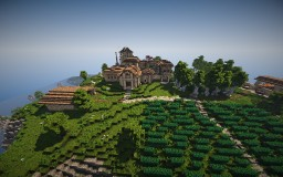 Roman Villa Minecraft Project