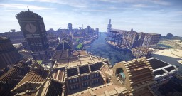 City and Kingdom of Whiteark | A Huge, Hand-Built, Nearly-Solo Project Minecraft Map & Project