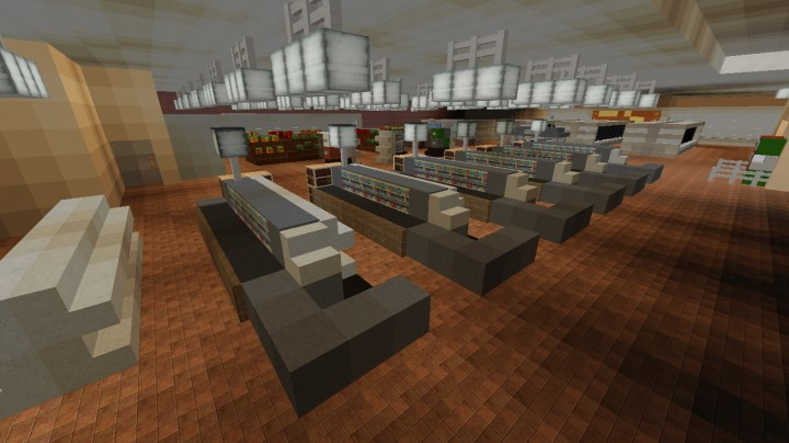 Grocery Store Interior Ecs Minecraft Project