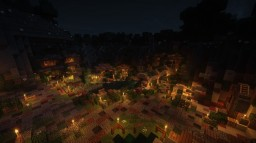 Secret Village in the Moutain Minecraft Map & Project