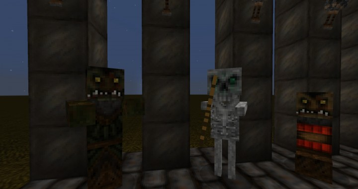 Orc Zombie, Skelly and Goblin Creeper