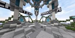 Aura Network Hub - Built by PrincessPokey & TweenieBanter Minecraft Map & Project