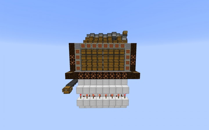 Silent Multi Chest Sorting System Minecraft Project