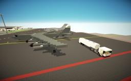 Mercedes Econic Airport Fuel Tanker Truck Minecraft