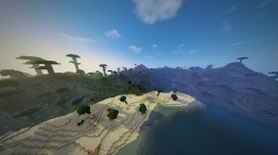 Hawaiian Beach Minecraft Map & Project