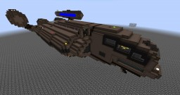 Cargo Ship - Fully Explorable Minecraft