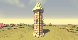 Shiro's Cute Little Tower Minecraft Map & Project