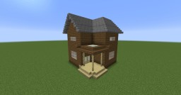 Simple Town Home Minecraft Project